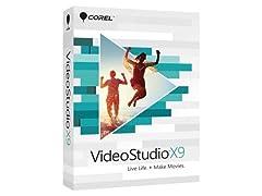 Corel Software VideoStudio X9