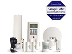 SimpliSafe 12-PC Home Security System w/ HD Camera
