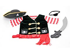 Melissa & Doug Pirate Costume Set