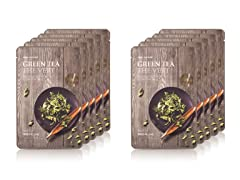 Real Nature Green Tea Mask - 10 Pack