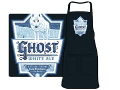 """Ghost White Ale"" Apron"