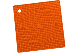 Casabella Pot Holder/Trivet - Orange