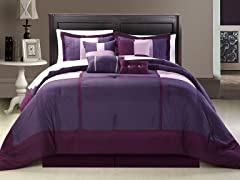 Dorchester 8Pc Set-Plum-2 Sizes