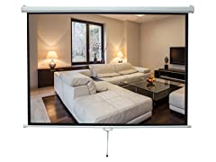 "Pyle Projection Screen 59.8"" x 79.9"""