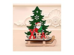 Christmas Wooden Table Top Decoration