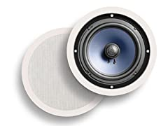 "Polk Audio 8"" In-Ceiling Speakers (Pair)"