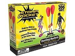 Stomp Rocket Dueling Rockets, 4 Rockets