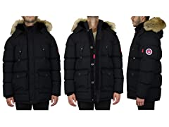 Men's Heavyweight BubbleParka W DetachableHood