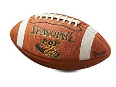 Pop Warner Youth Leather Football