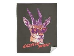 """Gazelle Yeah!"" Blanket"