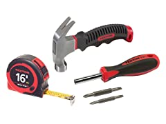 Tekton Hammer / Screwdriver / Tape Set