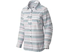 Columbia Womens Pilsner Peak LS Shirt, L