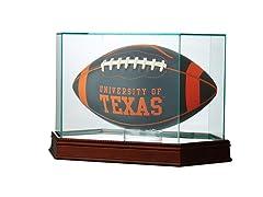 Glass Football Case