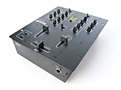 "Professional 2-Channel, 10"" DJ Mixer"