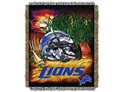 Lions Tapestry Throw