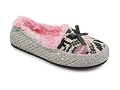 Girls Tobey Moccasin (9 Tod-3 Youth)