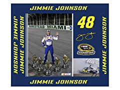 "Jimmie Johnson 9"" x 11"""