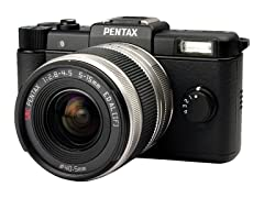 Pentax Q 12.4MP Digital Camera w/ 5-15mm