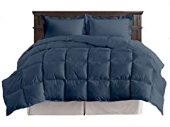 5-Pc Comforter Set - Navy - King