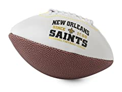 New Orleans Saints Vintage Mini Football