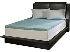 "Simmons Curv 3"" Gel Mattress Topper - Your Choice"