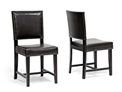 Nottingham Dining Chair Set of 2 - Brown