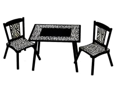 Wild Side Table & 2 Chair Set