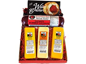 Wisconsin's Best Cheese & Salami Gift Box