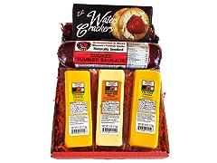 Wisconsin's Best Cheese & Salami Gift Box