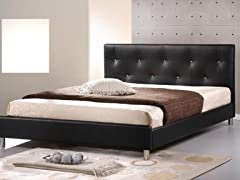 Barbara Platform Bed - Queen - Black