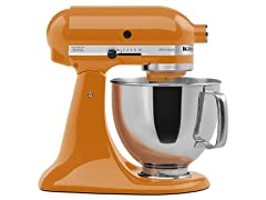KitchenAid 5-Quart Tilt-Head Stand Mixer, Tangerine