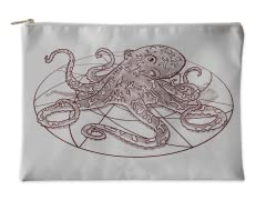 Octopi Are Not Square Accessory Pouch