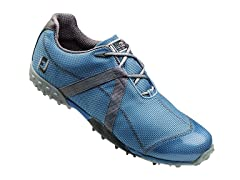 M Project Mesh Spikeless Golf Shoe- Blue