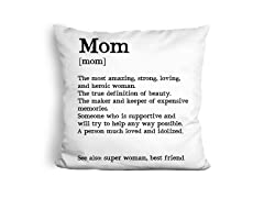 LiLiPi Brand Pillow - Mom