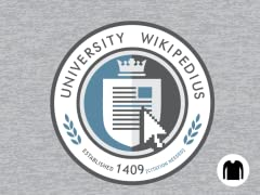 University Wikipedius Long-Sleeve Tee