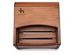 Human Touch Cedar Wood Foot Spa