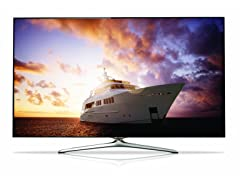 "Samsung 55"" 1080p 3D 720 CMR Smart LED TV with Wi-Fi"