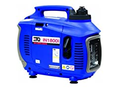 ETQ 1,800 Watt Gas Inverter Generator