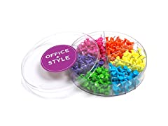 Office + Style Push Pins - 3 Pack