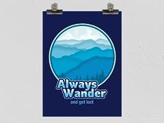 Always Wander Poster