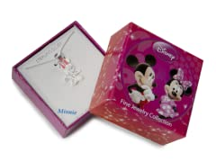 Minnie Pink & Sterling Silver Pendant