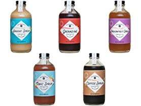 5 Pk Yes Cocktail Company Syrup Sampler