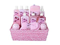 Exotic Cherry Spa Gift Basket