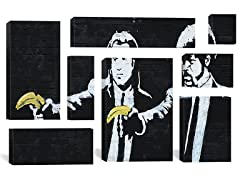 Pulp Fiction Bananas by Banksy