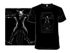 Vitruvian Wolfman