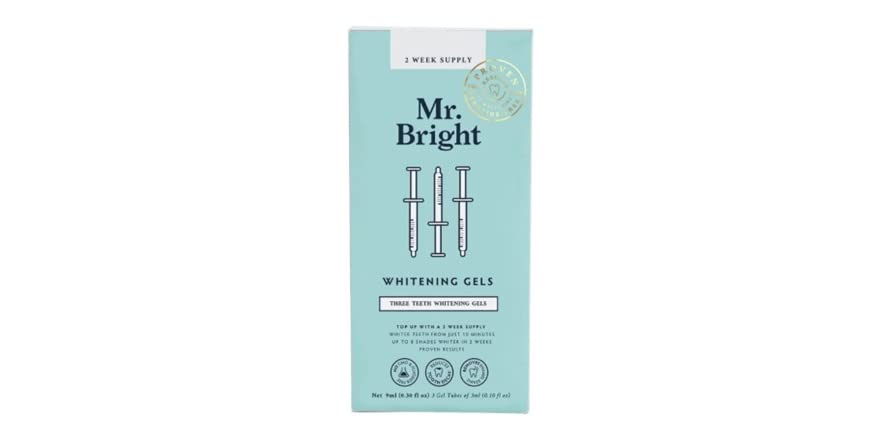 Mr. Bright Whitening Gel Refill (3 count) | WOOT