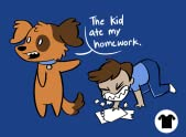 The Kid Ate My Homework