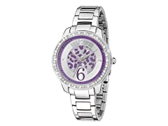 Just Cavalli Women's Shiny Silver Watch