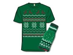 2007 Ugly Holiday Sweater Tee & Freaker Bundle