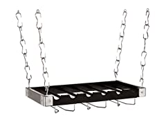 "2-in-1 Wine Rack 12""x23"" - Charcoal"